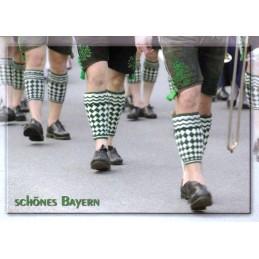 Bavaria Half Stockings - Viewcard