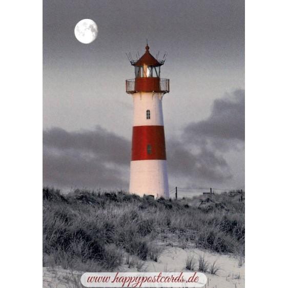 Sylt - Lighthouse List-Ost - Viewcard