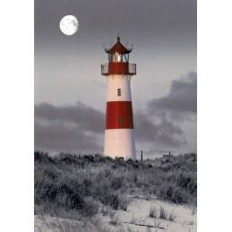 Sylt - Leuchtturm List-Ost - Ansichtskarte