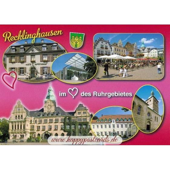 Recklinghausen - Ansichtskarte
