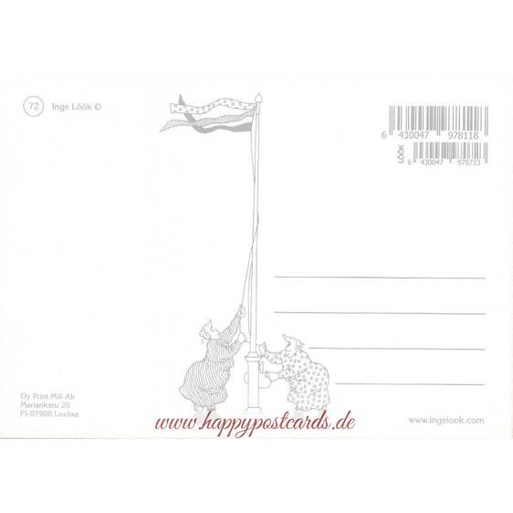 72 - Frauen hacken Holz - Löök Postkarte