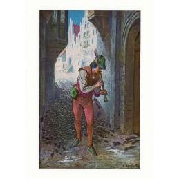 Rattenfänger von Hameln - Postkarte