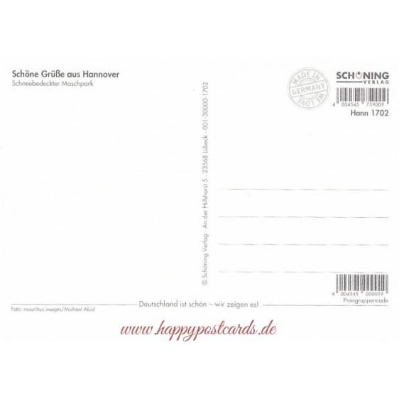 Hannover - Maschpark - Postkarte