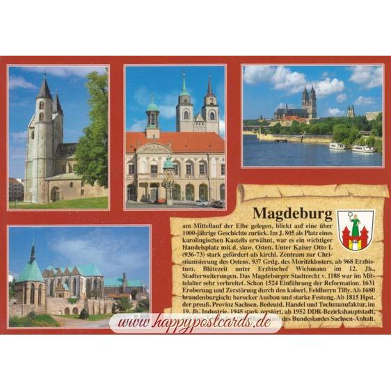 Magdeburg - Chronicle - Viewcard