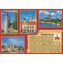 Magdeburg - Chronikkarte