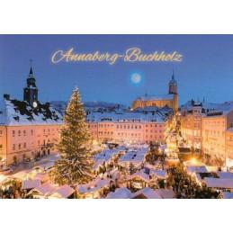 Annaberg-Buchholz - Christmasmarket - Viewcard