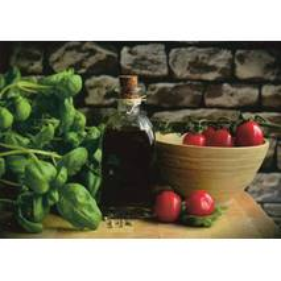 Olivenöl - Postkarte