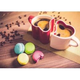 Kaffeepause - Postkarte