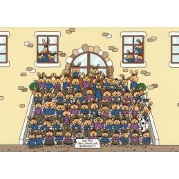 Wer hat den Lehrer voll gekleckert?