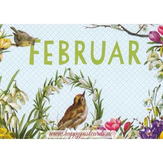 Februar - Carola Pabst - Monthly Postcard
