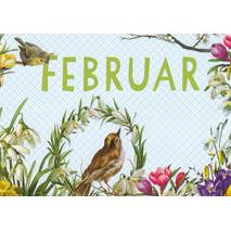 Februar - Carola Pabst - Monats-Postkarte