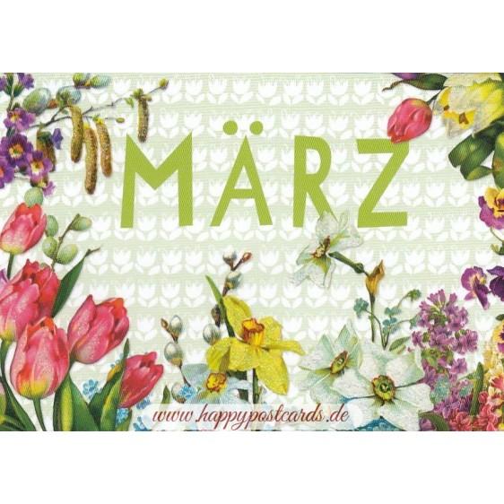März - Carola Pabst - Monats-Postkarte