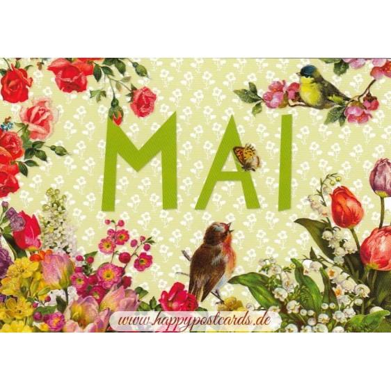 Mai - Carola Pabst - Monthly Postcard