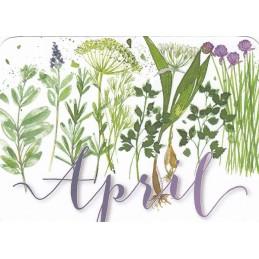 April - Kerstin Heß - Monats-Postkarte