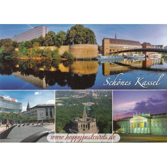 Beautiful Kassel - Viewcard