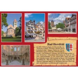 Bad Hersfeld - Chronicle - Viewcard
