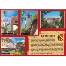 Kaufbeuren - Chronikkarte