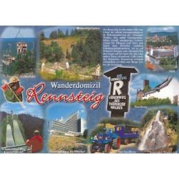 Rennsteig - Chronikkarte