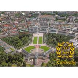 300 Jahre Karlsruhe - Ansichtskarte