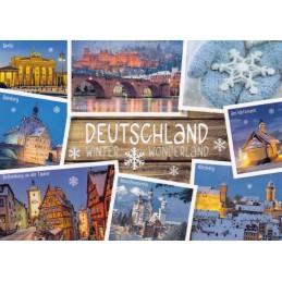 Deutschland Winter Wonderland - Ansichtskarte