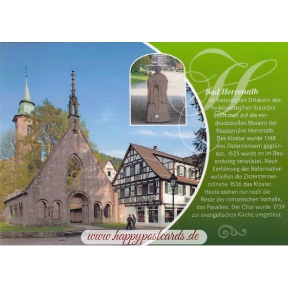 Bad Herrenalb - Chronicle - Viewcard