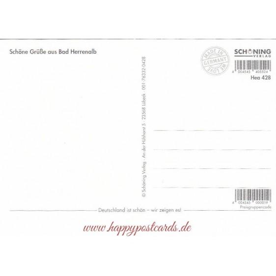 Bad Herrenalb - Chronikkarte