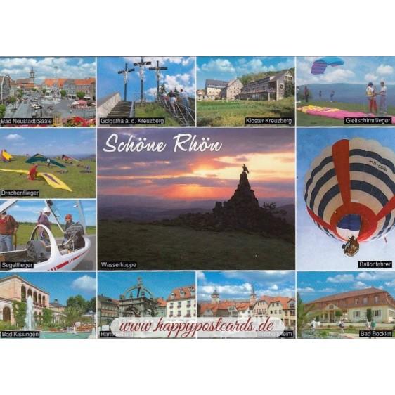 Beautiful Rhon - Viewcard