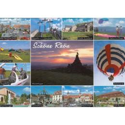 Schöne Rhön - Ansichtskarte