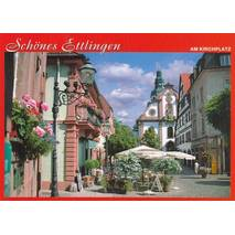 Beautiful Ettlingen - Viewcard