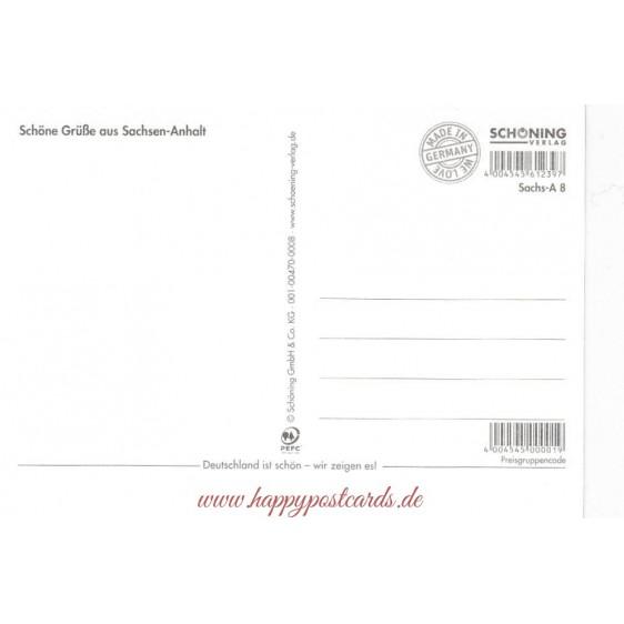 DENK-MAL! Sachsen-Anhalt - Ansichtskarte