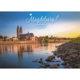 Magdeburg Elbe - Ansichtskarte