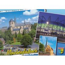 Mönchengladbach - Multi - Ansichtskarte