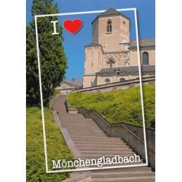 Mönchengladbach - Münster St. Vitus - Ansichtskarte