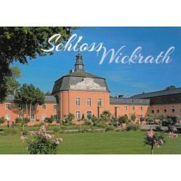 Mönchengladbach - Schloss Wickrath - Ansichtskarte