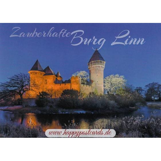 Krefeld - Burg Linn - Ansichtskarte