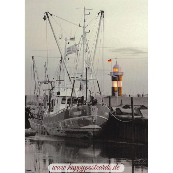 Wremen - Lighthouse Kleiner Preuße - Viewcard