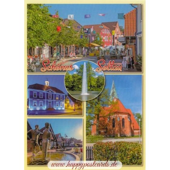 Beautiful Soltau - Viewcard