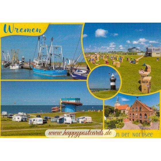 Wremen - Viewcard