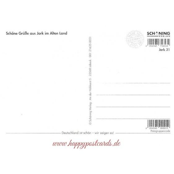 Jork - Sparrows - Viewcard