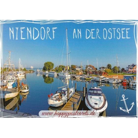 Niendorf at Baltic Sea - Viewcard
