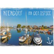Niendorf at Baltic Sea - Viewcard