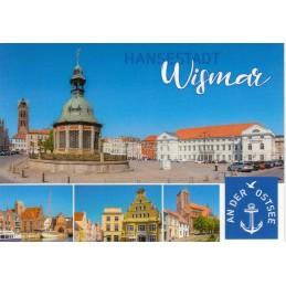Wismar - Multi - Ansichtskarte