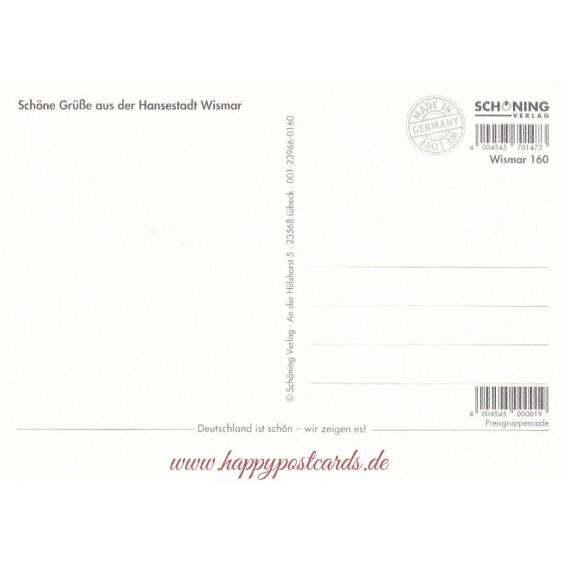 Wismar - Multi - Viewcard
