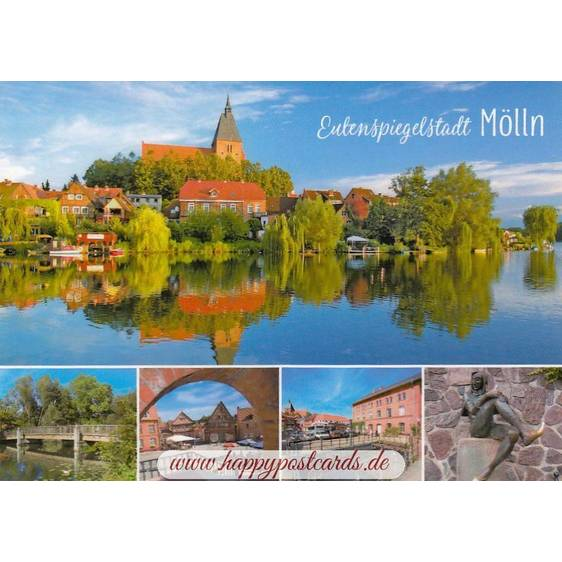 Mölln - Multi - Viewcard