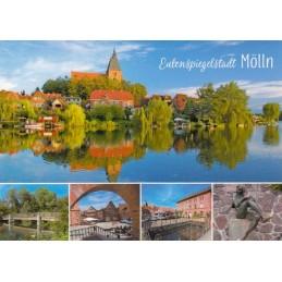 Mölln - Multi - Viewcard