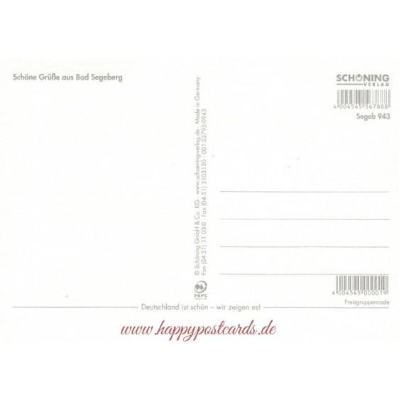 Bad Segeberg - Multi - Ansichtskarte