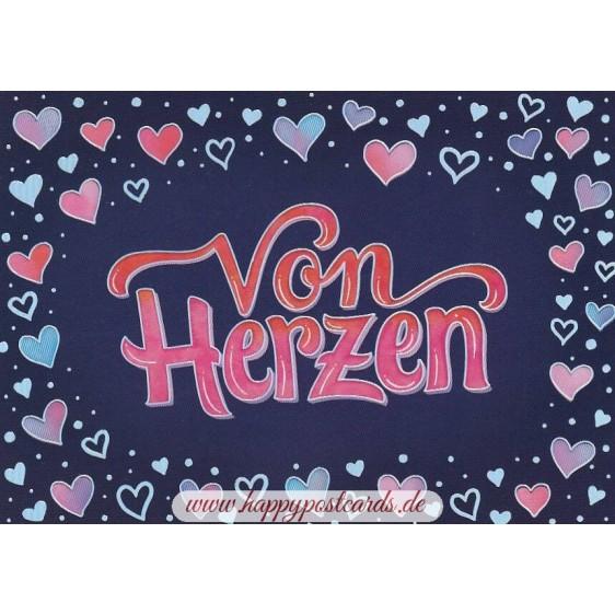 Von Herzen - Postcard