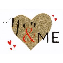 You & Me - Postcard