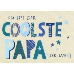 Coolster Papa - Postkarte