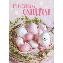 Ein fröhliches Osterfest - Osterpostkarte